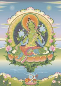 Prayers to Tara, female Buddha of swift wisdom & compassion @ Tushita Centre | Cape Town | Western Cape | South Africa