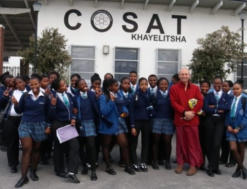 Meditation in a South African School